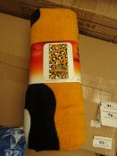 2 x The Lion king Printed Towels. 70cm x 140cm. New with Tags