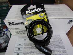 Master - Bicycle Lock (2 Keys) - New.