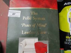 The Pelle System - Leather Care - New & Boxed.
