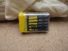 A Tic Tac Box of 10 Kango T20 torq driver bits - New.