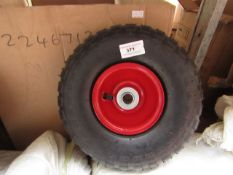 7x Sack Truck Wheel - Packaged.