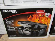 Master - Small Security Chest (Protected By SentrySafe) 5.2L - New.