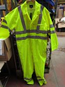 VizWear - Green Boiler Suit - Size 2XL - With Tags.