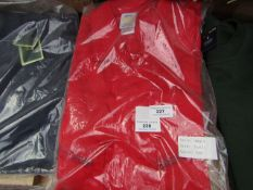 VizWear - Red Boiler Suit - Size S - Packaged.