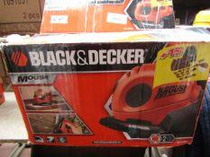 Black & Decker - Mouse - Sander / Polisher - Tested Working & Boxed.