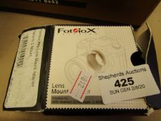 Fotdiox - Pro Lens Mount Adapter - Unchecked & Boxed.