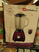 SQ Professional - SQPRO Luminate Blender & Grinder (500W) - Untested & Boxed.