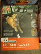 Waterproof Pet Seat Cover. Boxed but unchecked