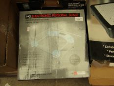 HQ - Electronic Personal Scale - Unchecked & Boxed.