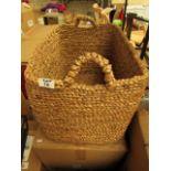 La Redoute Large Basket. Unused & Boxed. No Damage.50cm x 34cm x 36cm. RRP £70