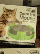 Asab Catch The Mouse Motion Cat Toy. Boxed but unchecked