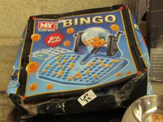 2 x My First Bingo Games. Boxes are Damaged but Items Should Be Fine