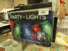 Paladone - Party Wire Lights (Music Reactive) USB Powered. - Boxed.