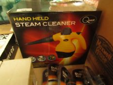 Quest - Hand-Held Steam Cleaner - Untested & Boxed.