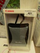 Canon - PowerShot DCC-550 Silver - Camera Case - Packaged.