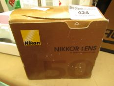 Nikon - Nikkor Lens (For Binoculars) - Unchecked & Boxed.