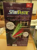 | 1X | STARTASTIC MAX ACTION LASER PROJECTORS | NEW AND BOXED | NO ONLINE RE-SALE | SKU