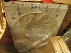 La Redoute Natural Large Light Shade. Unused & Packaged.