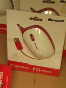1x Microsoft - Express Mouse - New & Packaged.