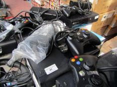 XBOX 360, includes; 1x controller and power supply (euro plug), untested and boxed. RRP Circa £139.