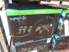 Logitech g29 driving force racing wheel and pedals set, unchecked and boxed. RRP £245.00 |
