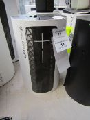 Ultimate Ears Mega Boom 2 portable speaker, tested working and boxed. RRP £94.99 See picture for
