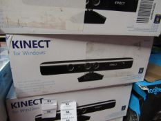 Kinect for Windows, unchecked and boxed. RRP £89.00 | Please note, this item is NOT compatible