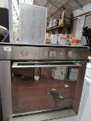 Whirlpool, built in Electric single oven, Stainless Steel effect, untested