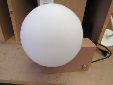 | 1X | &TRADITION JOURNEY CLAY WALL OR TABLE LAMP | LOOKS UNUSED AND BOXED BUT NO GUARANTEE | RRP £