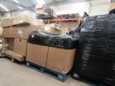 | 1X | PALLET OF APPROX 9 LA REDOUTE CUSTOMER RETURN FURNITURE ALL WITH PARTS MISSING OR BROKEN |