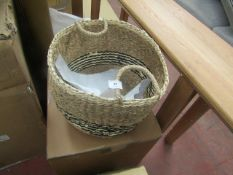 | 1X | LA REDOUTE WOVEN BASKET | LOOKS UNUSED AND COMES WITH BOX | RRP - |