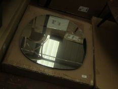 | 1X | LA REDOUTE BIFACE IRRECGULAR MIRROR | NO VISIBLE DAMAGE TO THE MIRROR AND COMES BOXED | RRP