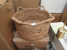 | 1X | LA REDOUTE WOVEN BASKET | LOOKS UNUSED AND COMES WITH BOXED | RRP CIRCA £36 |