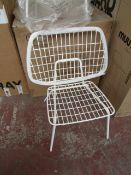 | 2X | MENU WM STRING LOUNGE CHAIR BY WM STUDIO | LOOKS UNUSED (NO GUARANTEE), BOXED | RRP £250.