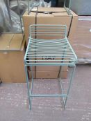 | 2X | HAY HEE FALL GREEN BAR STOOLS | LOOKS UNUSED BUT NO GUARANTEE), BOXED | RRP £320 |