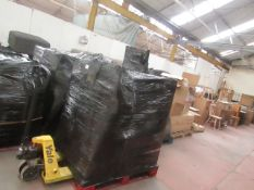 | 1X | PALLET OF APPROX 7 LA REDOUTE CUSTOMER RETURN FURNITURE ALL WITH PARTS MISSING OR BROKEN |