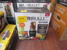 | 1X | NUTRI BULLET 600 SERIES | UNTESTED AND BOXED | NO ONLINE RESALE | RRP £59.99 | TOTAL LOT