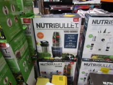 |2X | NUTRI BULLET 1000 SERIES | UNCHECKED AND BOXED | NO ONLINE RESALE | RRP £99.99 |TOTAL LOT