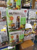 | 10X | NUTRI BULLET 600 SERIES | UNCHECKED AND BOXED | NO ONLINE RESALE | SKU C5060191462198 | RRP