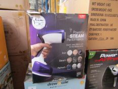 | 1X | VERTI STEAM PRO'S | UNCHECKED AND BOXED | NO ONLINE RESALE | RRP £43.99 |TOTAL LOT RRP £43.