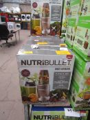 | 5X | NUTRIBULLET 900 SERIES | UNCHECKED AND BOXED | NO ONLINE RE-SALE | SKU C5060191467353 |
