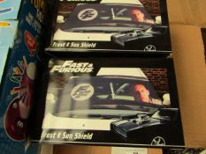 Fast&Furious - Frost & Sun Shield - New & Packaged.