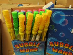 24x PlayWrite - Bubble Wand's - Packaged & Boxed.