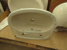 Unbranded - White 450mm Basin.