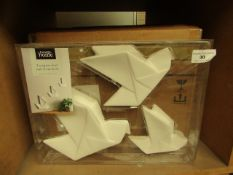 5 x 3 Packs of George Home Origami Wall Ornaments. New & Boxed
