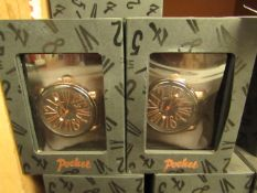 2 x Pocket Branded Watches. Boxed