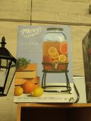 11L Mason Drink Dispenser.  Boxed Unchecked