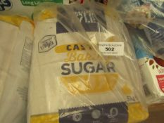 Tate & Lyle - Caster Baking Sugar (5KG) - Look New.