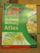 20 x Oxford Primary Atlas's. RRP £9.56 each on Amazon new & Boxed