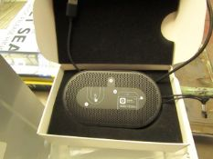 Bang & Olufsen - P2 - Portable Bluetooth Speaker - Tested Working & Boxed. RRP CIRCA £100.00.